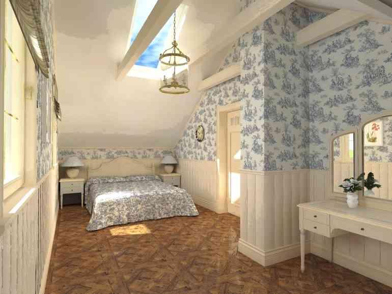 Декор спальни в стиле прованс своими руками