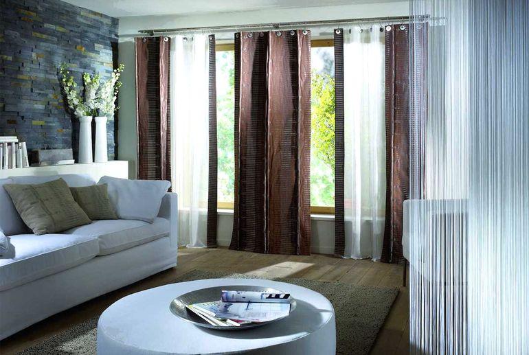 5 модных трендов в дизайне штор для гостиных и спален