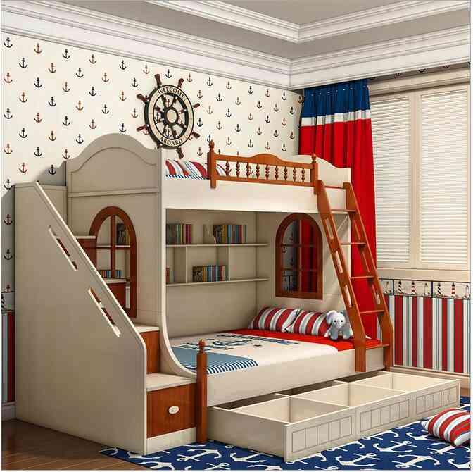 Двухярусная кровать - так ли безопасно?
