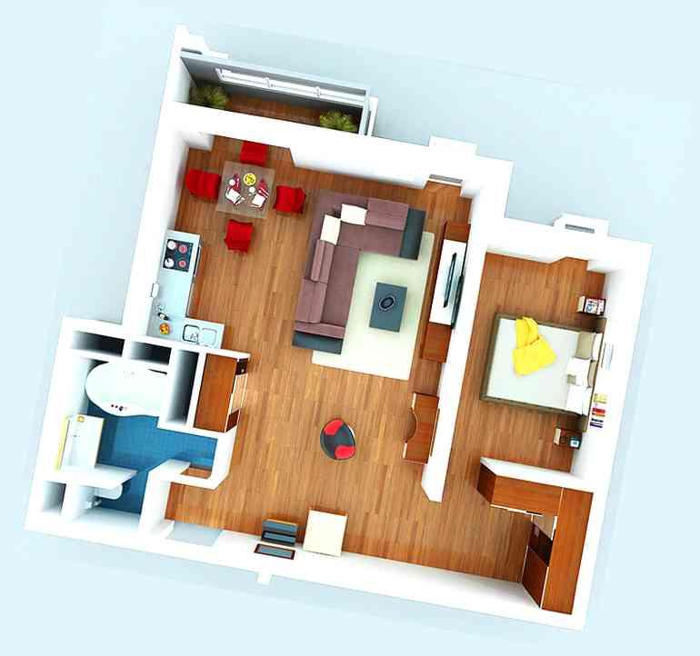 Неочевидные плюсы квартир-студий