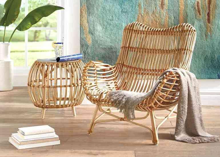 Как вписать плетеную мебель в интерьер современной квартиры
