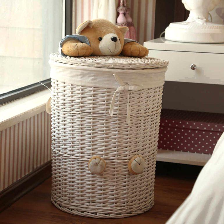 Плетеные коробки и корзины в интерьере: храним вещи красиво и практично