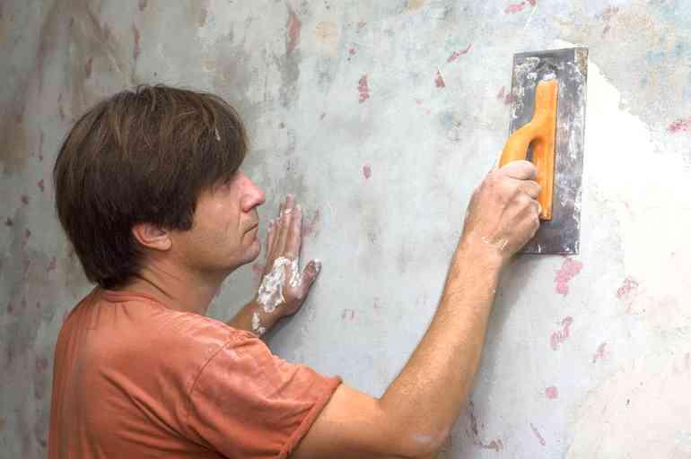 Как вывести углы стен без профилей