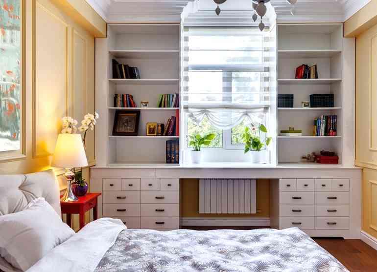 5 правил организации комфортной рабочей зоны в интерьере спальни