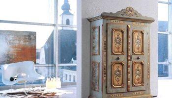 Как переделать старый шкаф/сервант в новый современный комод