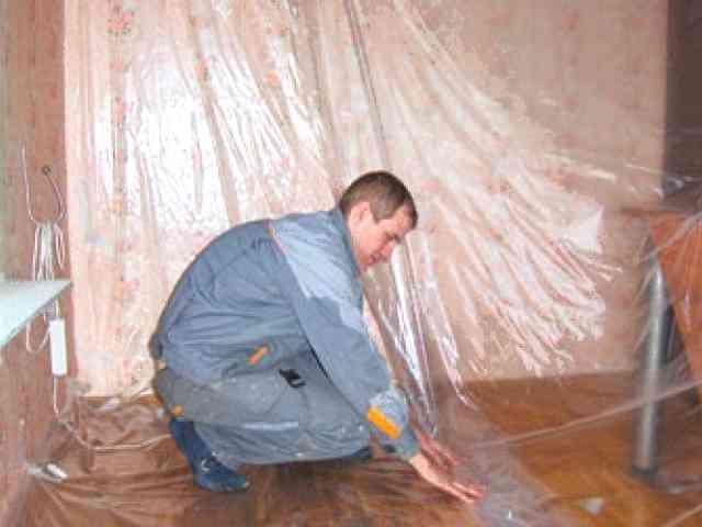 Как избежать пыли при ремонте - 5 рабочих моментов