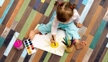 Какое покрытие лучше всего стелить в детской?