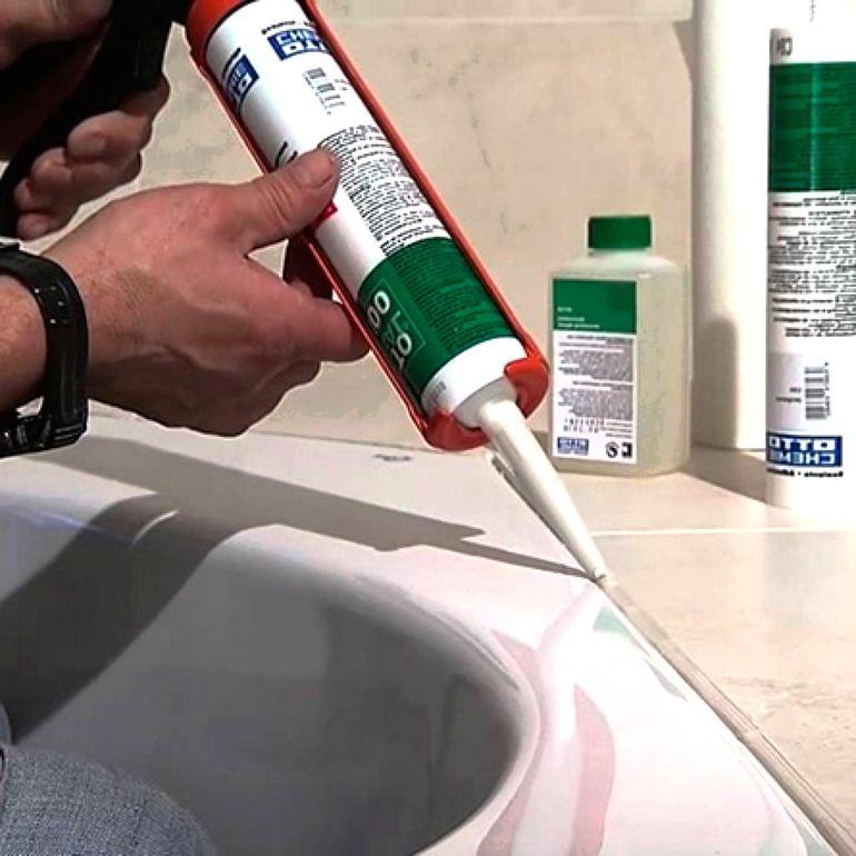 Как пользоваться силиконовым герметиком без пистолета