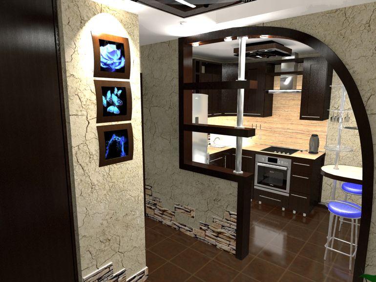 5 причин почему не стоит совмещать кухню с коридором
