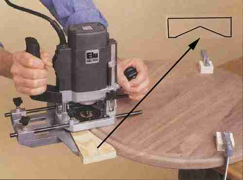 Приспособление для обработки округлой поверхности