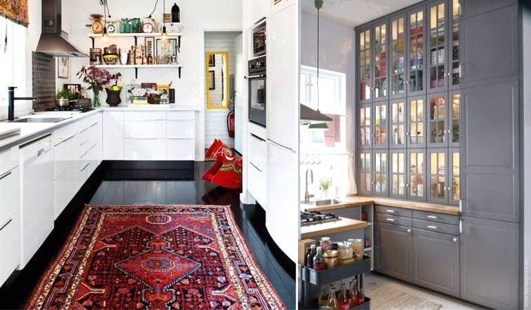 5 систем хранения, которые легко решат проблему тесной кухни
