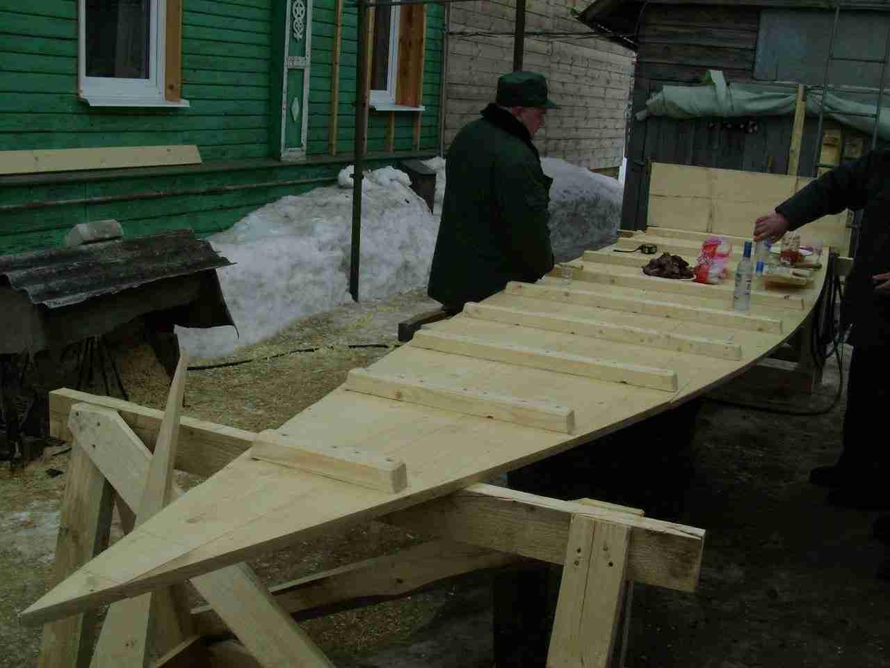 Построить лодку плоскодонку своими руками фото 37