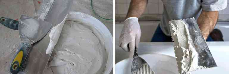 Как красиво сделать имитацию мрамора из обычной шпаклевки