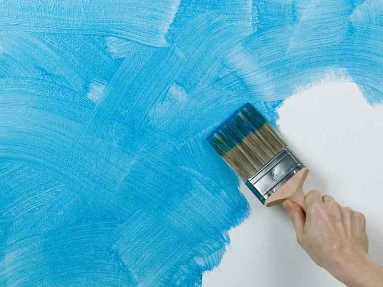 Почему лучше не красить декоративную штукатурку повторно