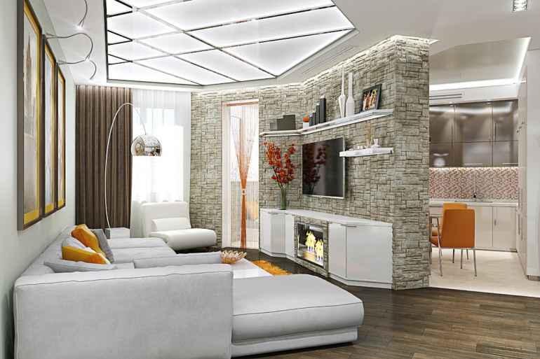 Как обставить мебелью комнаты с нестандартной геометрией