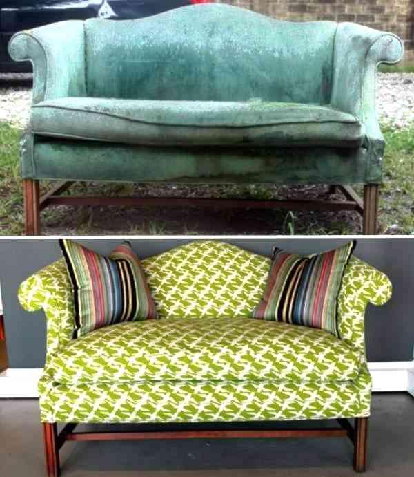 Как недорого и красиво обновить мягкую мебель
