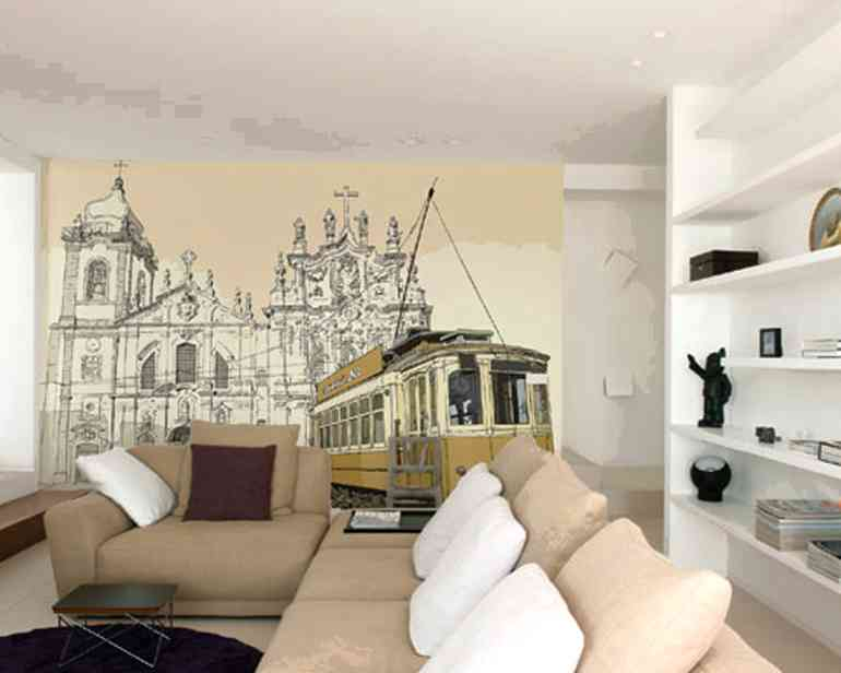5 идей для росписи стен квартиры своими руками