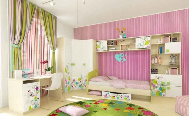 Какую мебель ставить в детскую что бы ребёнок развивался быстрее