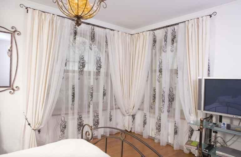 Как с помощью обычной тюли превратить квартиру в царские хоромы