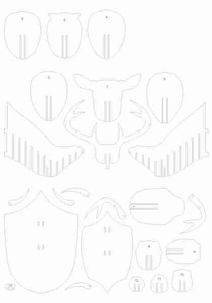 Схема создания подобных конструкций, представленная в виде отдельных элементов