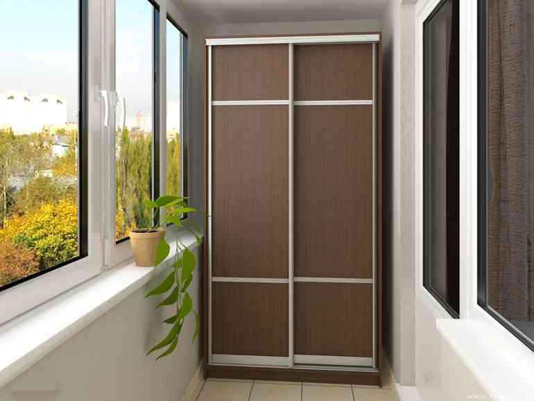 Как выбрать мебель для организации системы хранения вещей на балконе