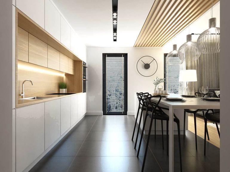 Ламинат на стенах: так ли практична идея современного дизайна