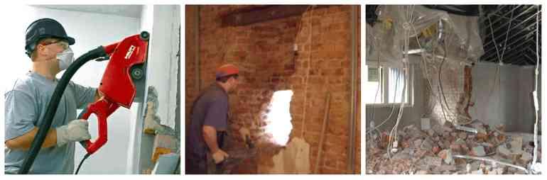 Снос не несущих стен в квартире