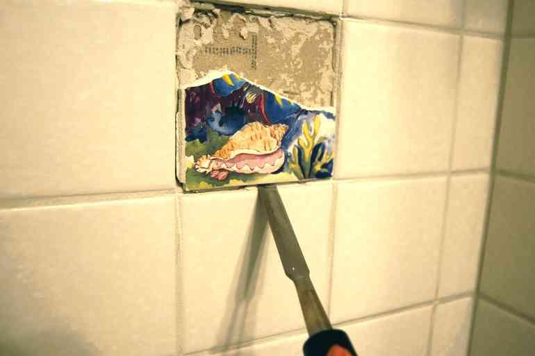 Что делать, если плитка уложена, но с ошибками в раскладке рисунка