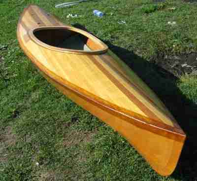 Собственноручно собранная лодка