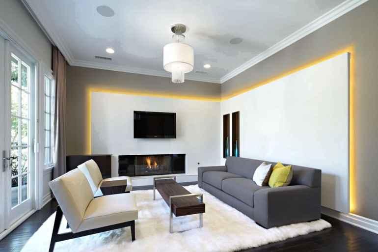 Как преобразить интерьер гостиной с помощью правильно подобранного освещения