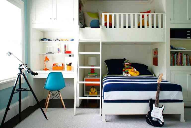 Какая мебель должна обязательно быть в комнате для мальчика