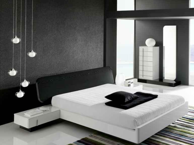 Спальня в черном цвете: решение для тех, кто следит за модой