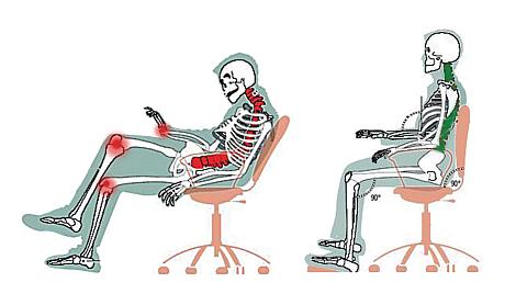 Если неправильно выбрать рабочее кресло будут проблемы со спиной - 5 правил подбора