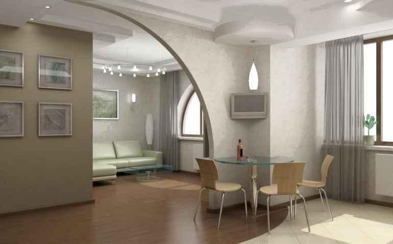 Дизайн угловой хрущёвки с четырьмя окнами