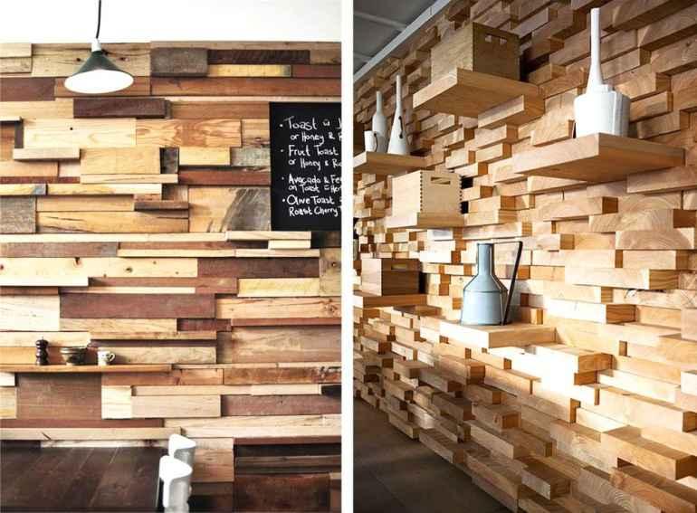 Мех, ткань и дерево: самые невероятные материалы для отделки стен
