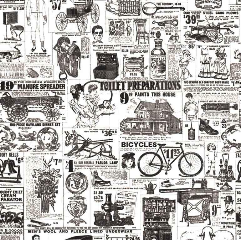 Газета в виде обоев новый тренд в дизайне