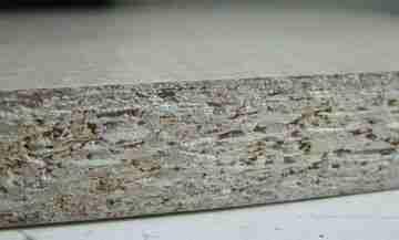 Структура древесно-стружечной плиты