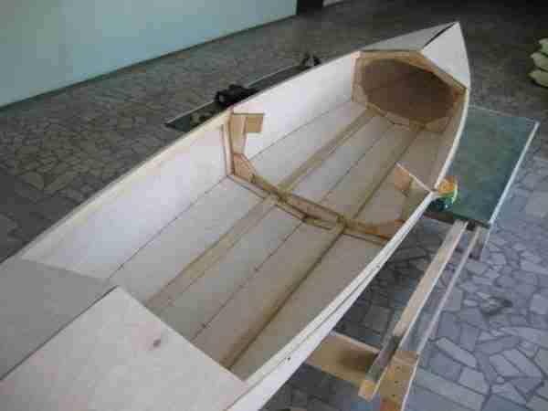Технологический процесс выделки лодки