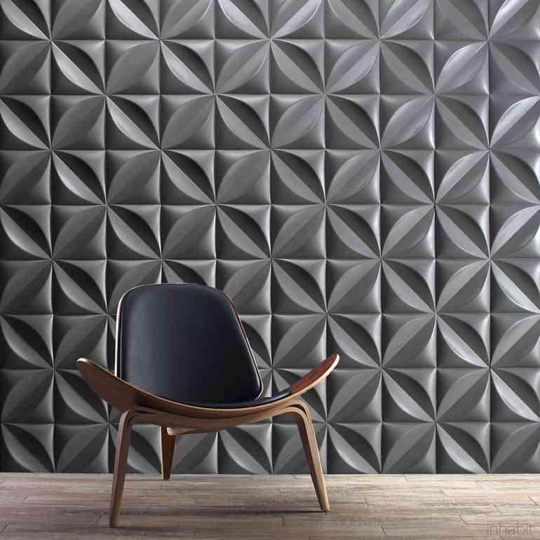 3d панели на стены - виды и основные правила использования
