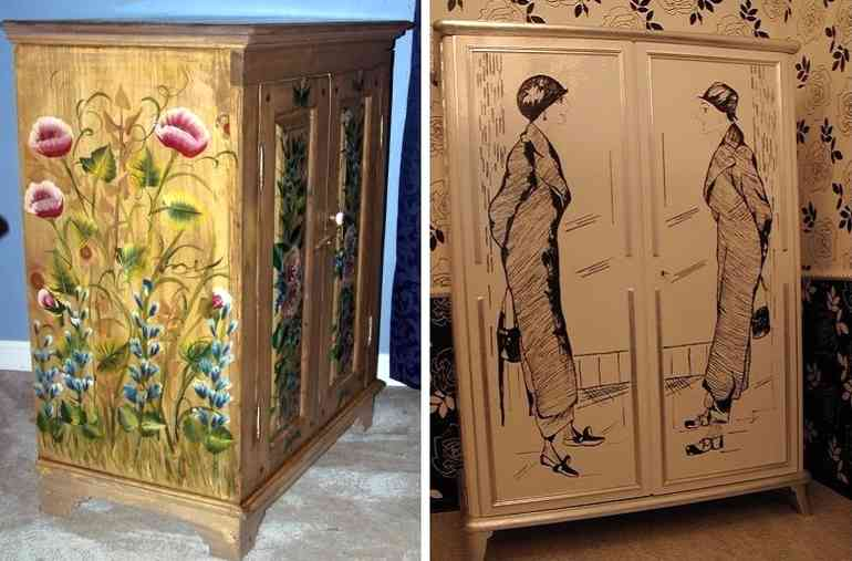 Как обновить старый шкаф чтобы смотрелся как новый - 5 способов