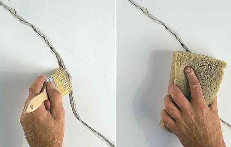 Как исправить трещины в гипсокартоне - самые доступные способы