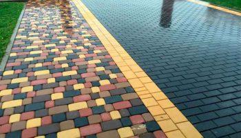 Как выбрать тротуарную плитку для дачного участка