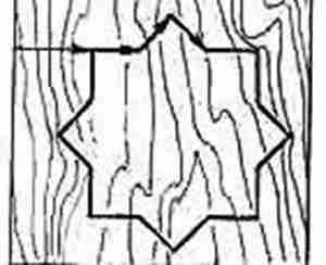 Тупые углы - чертежи для начинающих для выпиливания лобзиком из фанеры