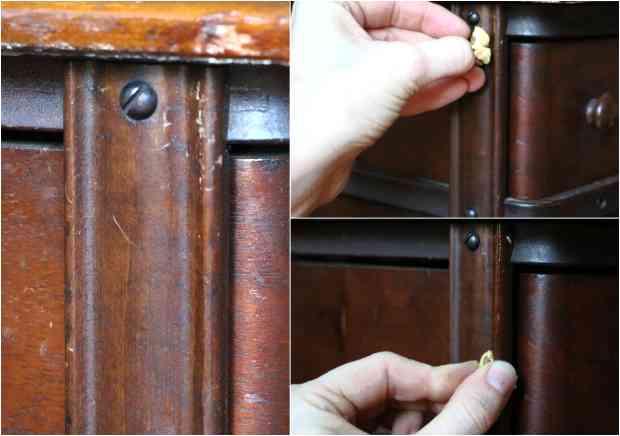 Как замаскировать мелкие дефекты на деревянной мебели