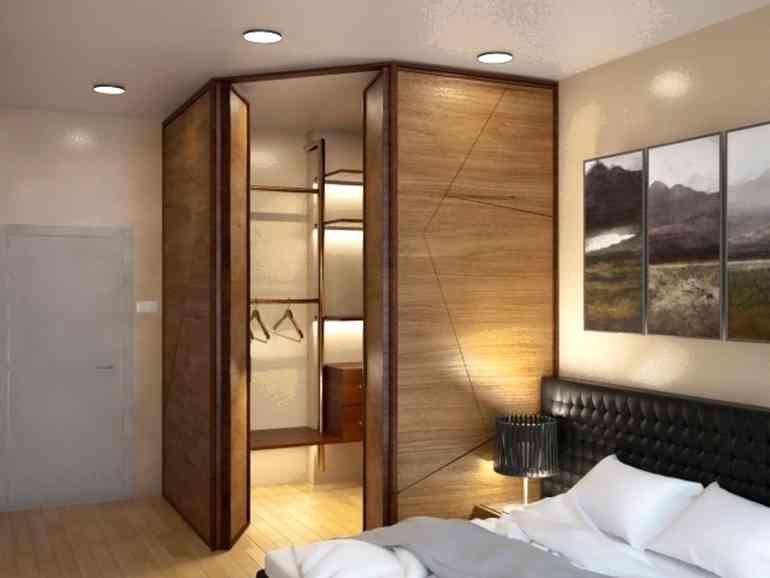 Нужна ли гардеробная в небольшой квартире?