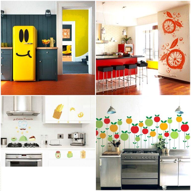 Как преобразить дизайн квартиры с помощью интерьерных наклеек