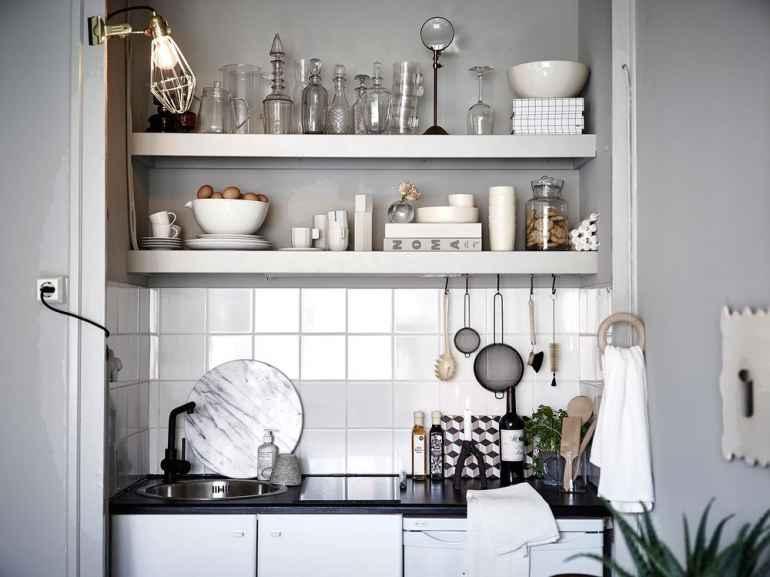 5 нетривиальных идей для хранения посуды на кухне