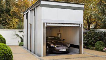 Варианты строительства гаража на участке