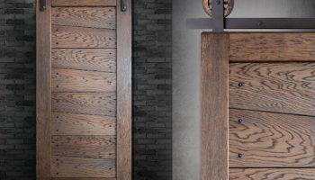 Межкомнатные двери в стиле лофт в современном интерьере