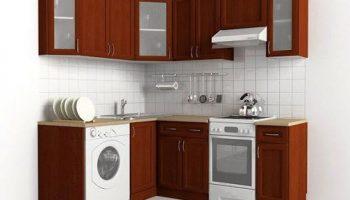 Как удачно расположить кухонные шкафы в хрущёвке